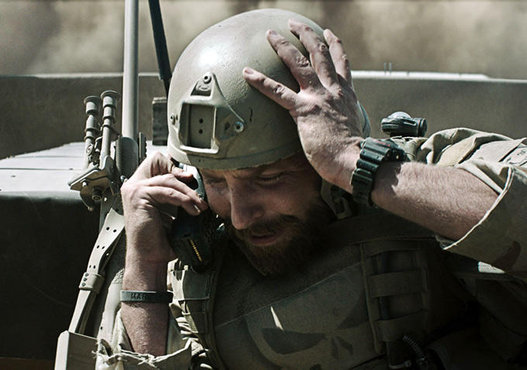Clint Eastwoods American Sniper movie shows iridium 9505A in real life military situations as a perfect keep in touch and life saving device