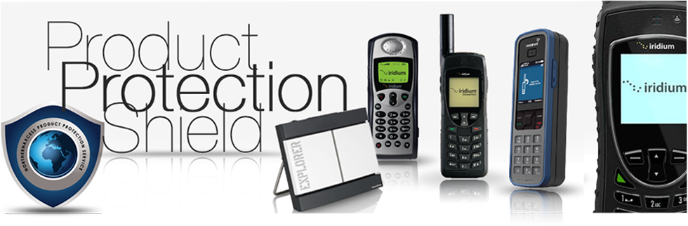product protection shield for satellite phones and BGANs